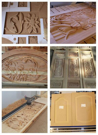 1325 Woodworking CNC Router Working Sample