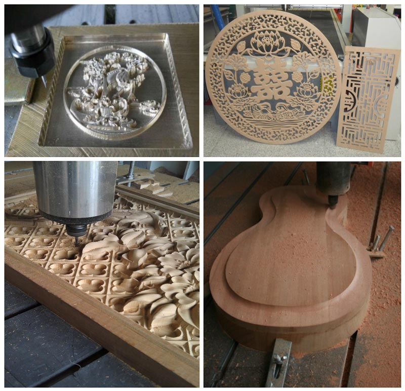 1325 cheap price wood cnc router working samples