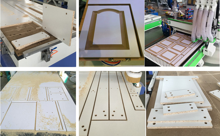ATC CNC Router for Furniture Cabinet Wardrobe Making