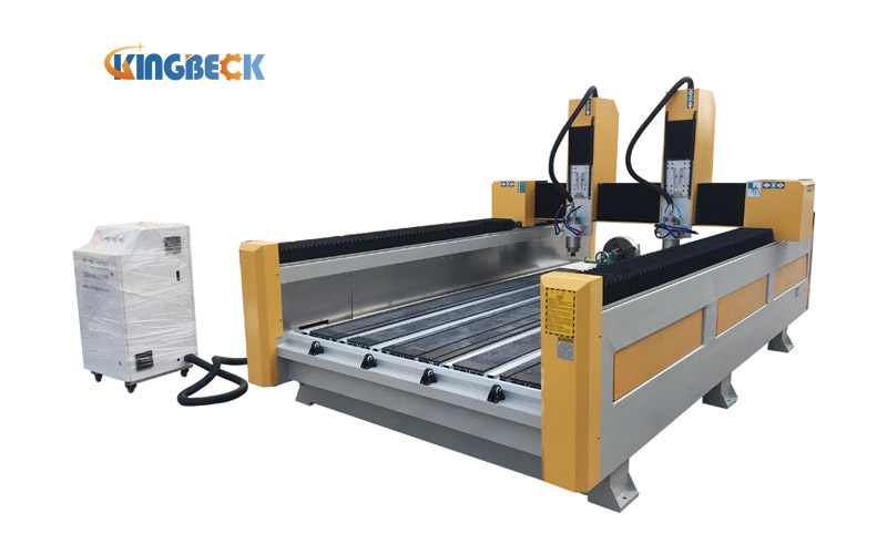 CNC Stone Carving Machine with Rotary