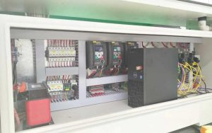 Electric Cabinet with Dell Computer Host