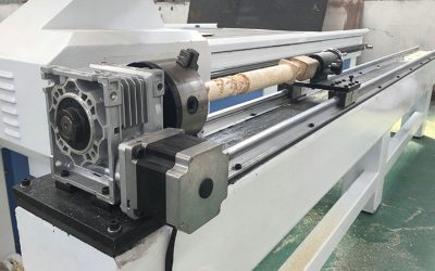 Wood CNC Router with Rotary Parts