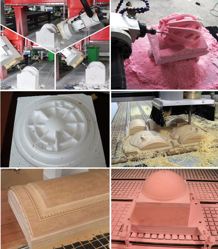 4 axis atc cnc router machine