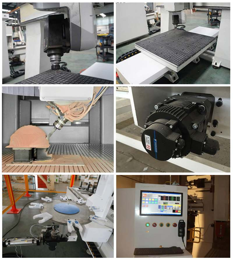 5 Axis CNC Router Machine Details