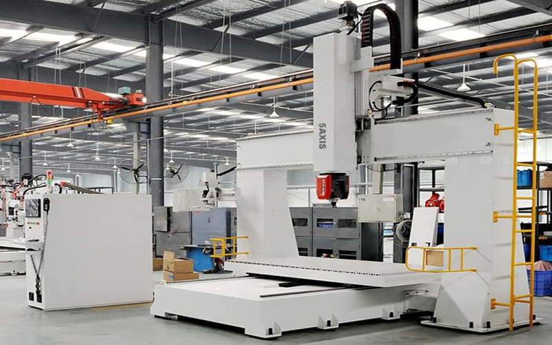 5 axis cnc router machine for wood foam mould making