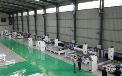 CNC Machining Center Workshop