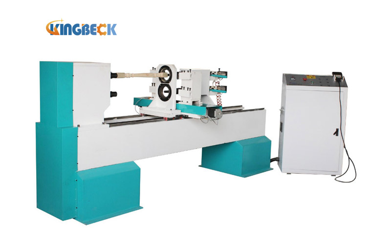 Automatic CNC Wood Lathe for Baseball Bat Making