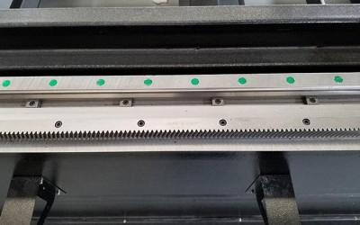 Germany Gear-rack transmission system & Taiwan Hiwin rails