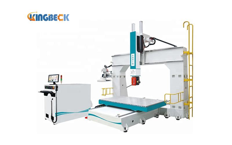 5 Axis CNC Router for Sanitary Mould Making