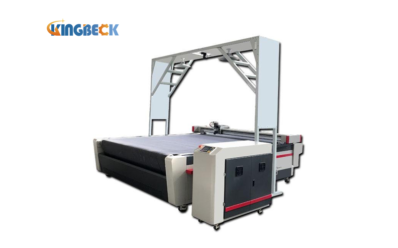 Automatic Contour Recognition Printed Fabric Cutting Machine