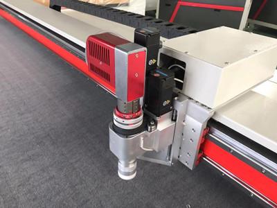 gasket cutting cnc oscillating cutter machine