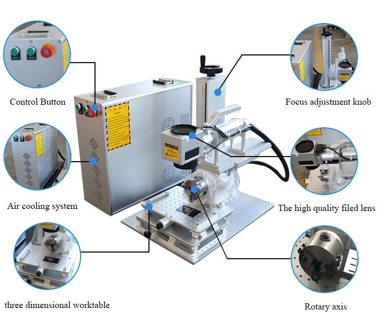 Handheld Laser Marking Engraving Machine for Metal