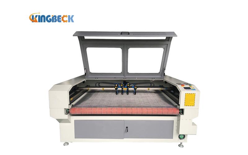 Multi Heads Laser Rolling FabricCloth Cutting Machine