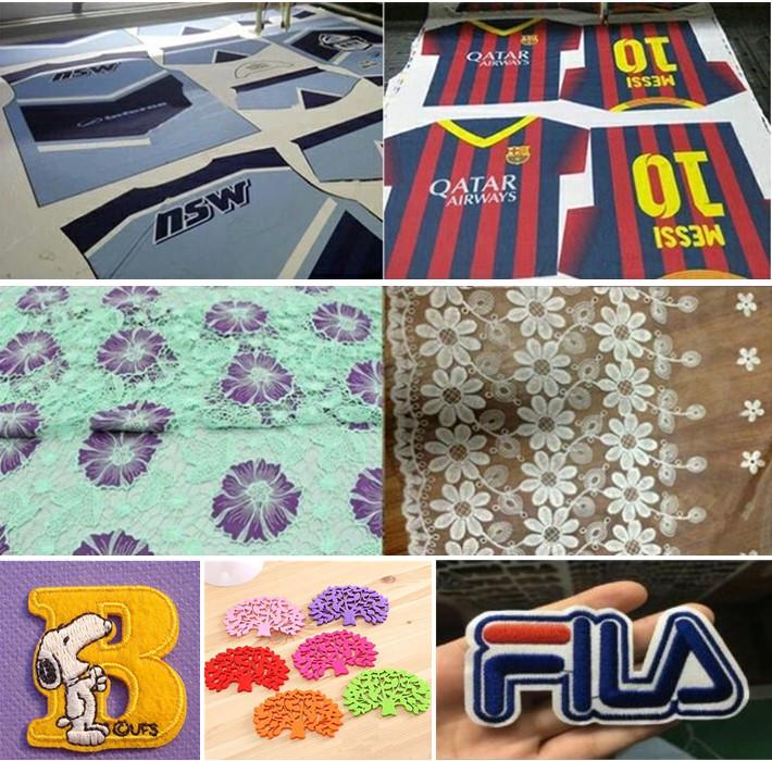 Multi Heads Rolling Fabric/Cloth Laser Cutting Machine
