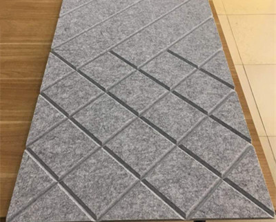 acoustic sheet cutting