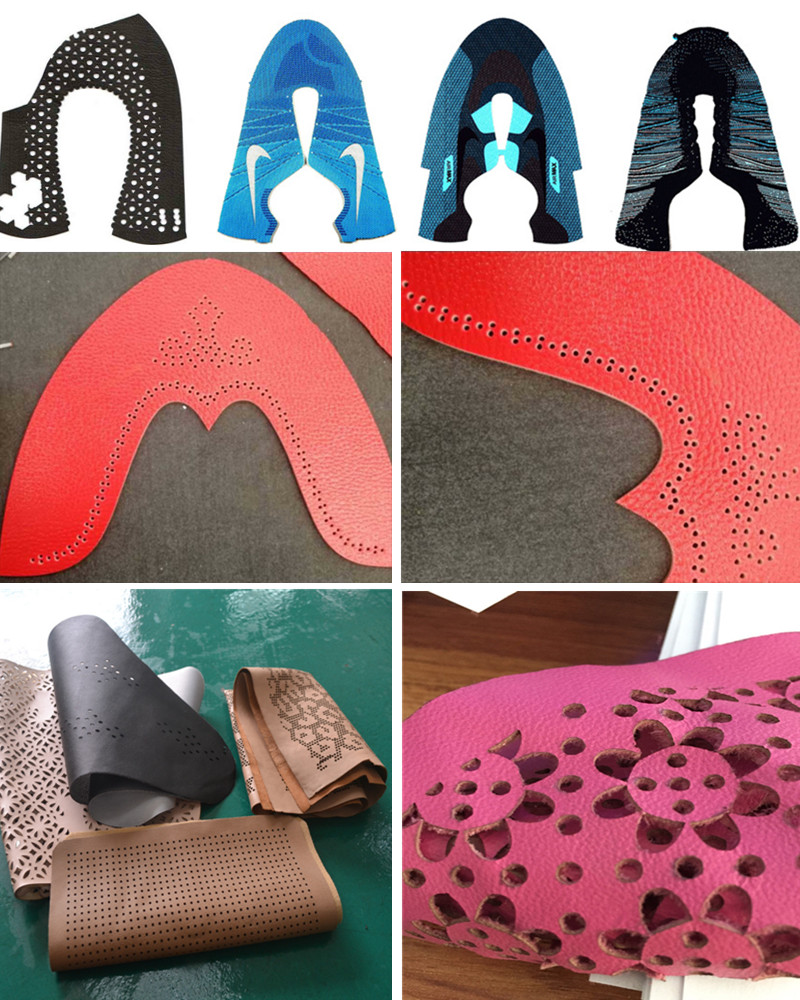 Laser Cutting Machine for Leather Shoe Cutting